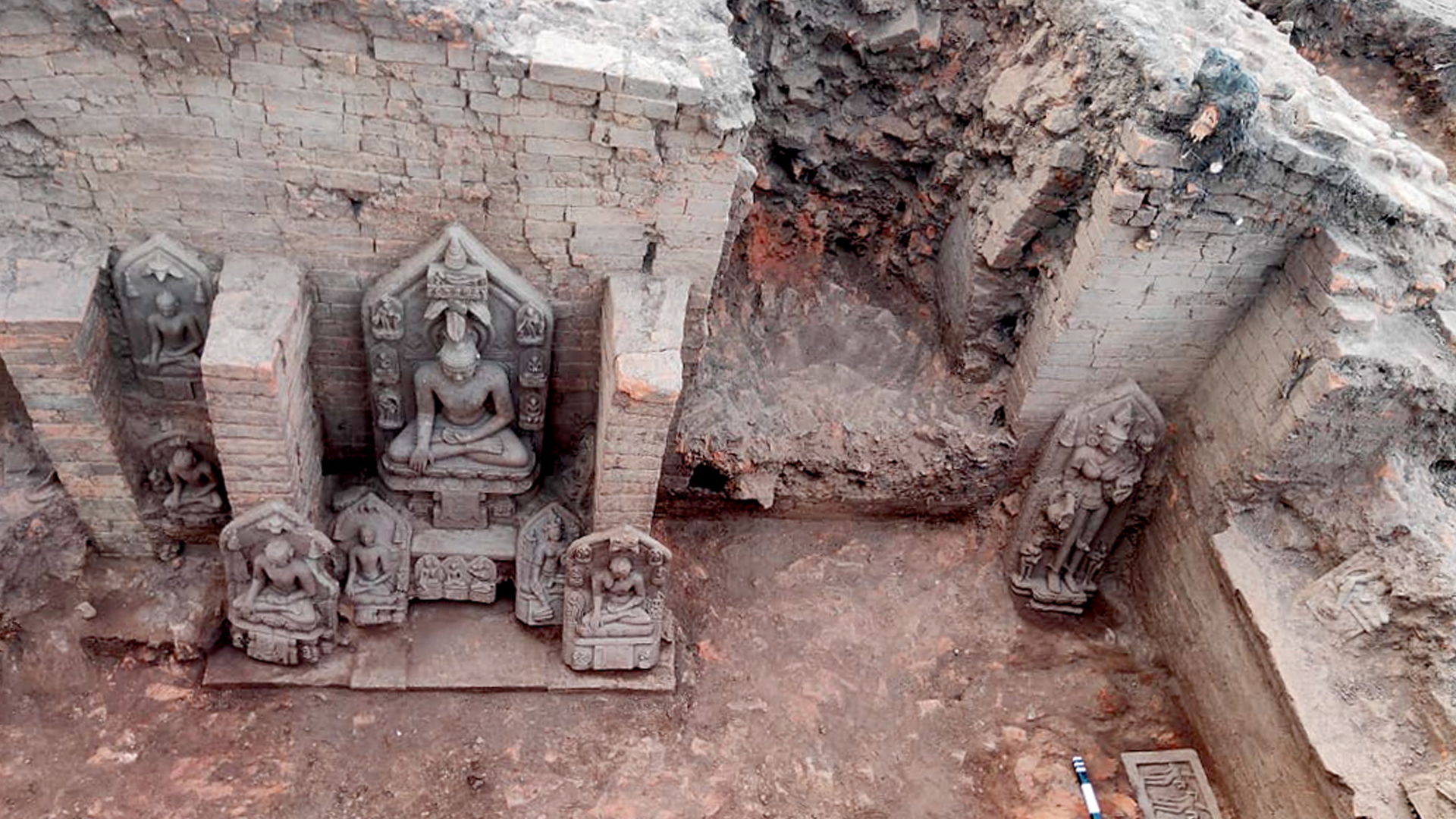 '900-Year-Old' Buddhist Monastery Found In Eastern India