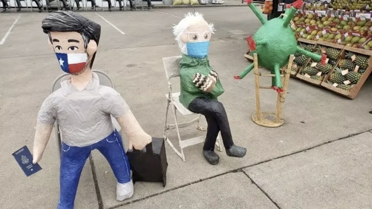 What Do Ted Cruz And Bernie Sanders Have In Common? They're Popular Piñatas
