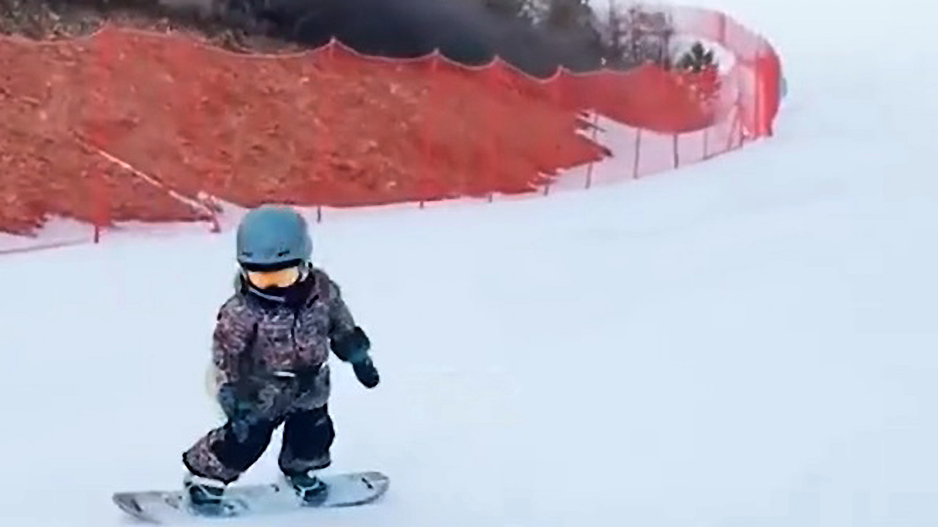 VIDEO: Snowboarding Prodigy Wins National Youth Championship For U8s At The Age Of 5