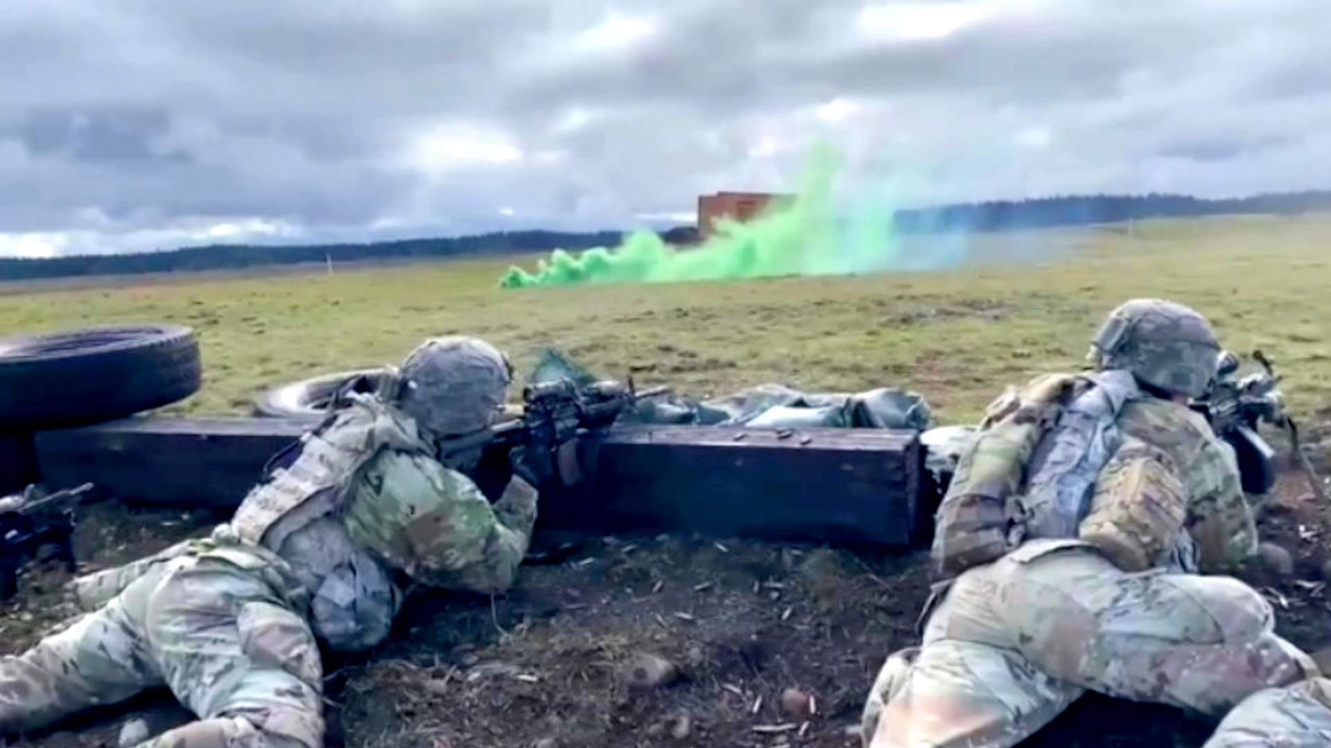 VIDEO: US Army-Braves Company Execute Live Fire Training