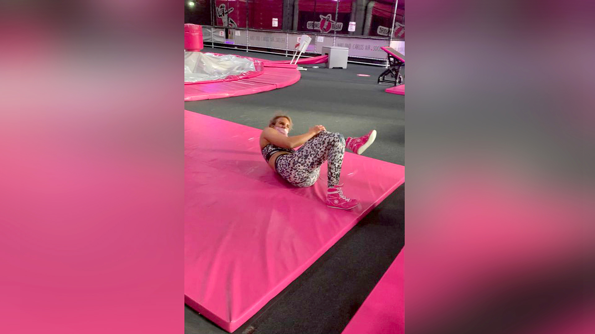 VIDEO: No Obstacle: Gruesome Knee Won't Stop Me, Blonde Boxing Champ Tells Ninja Warrior