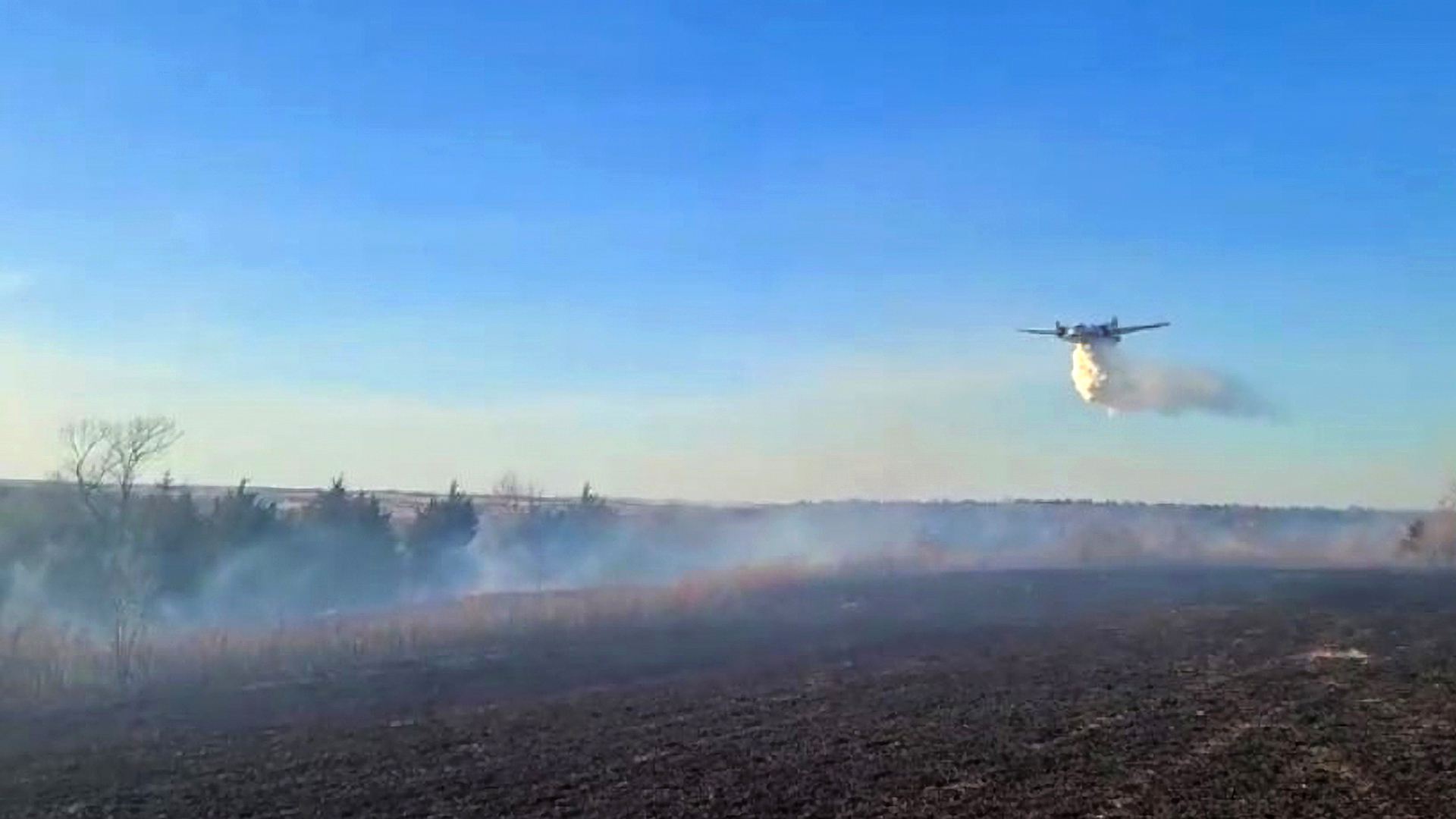 VIDEO: Crawford Fire Consumes 404,686 Square Metres Of Land