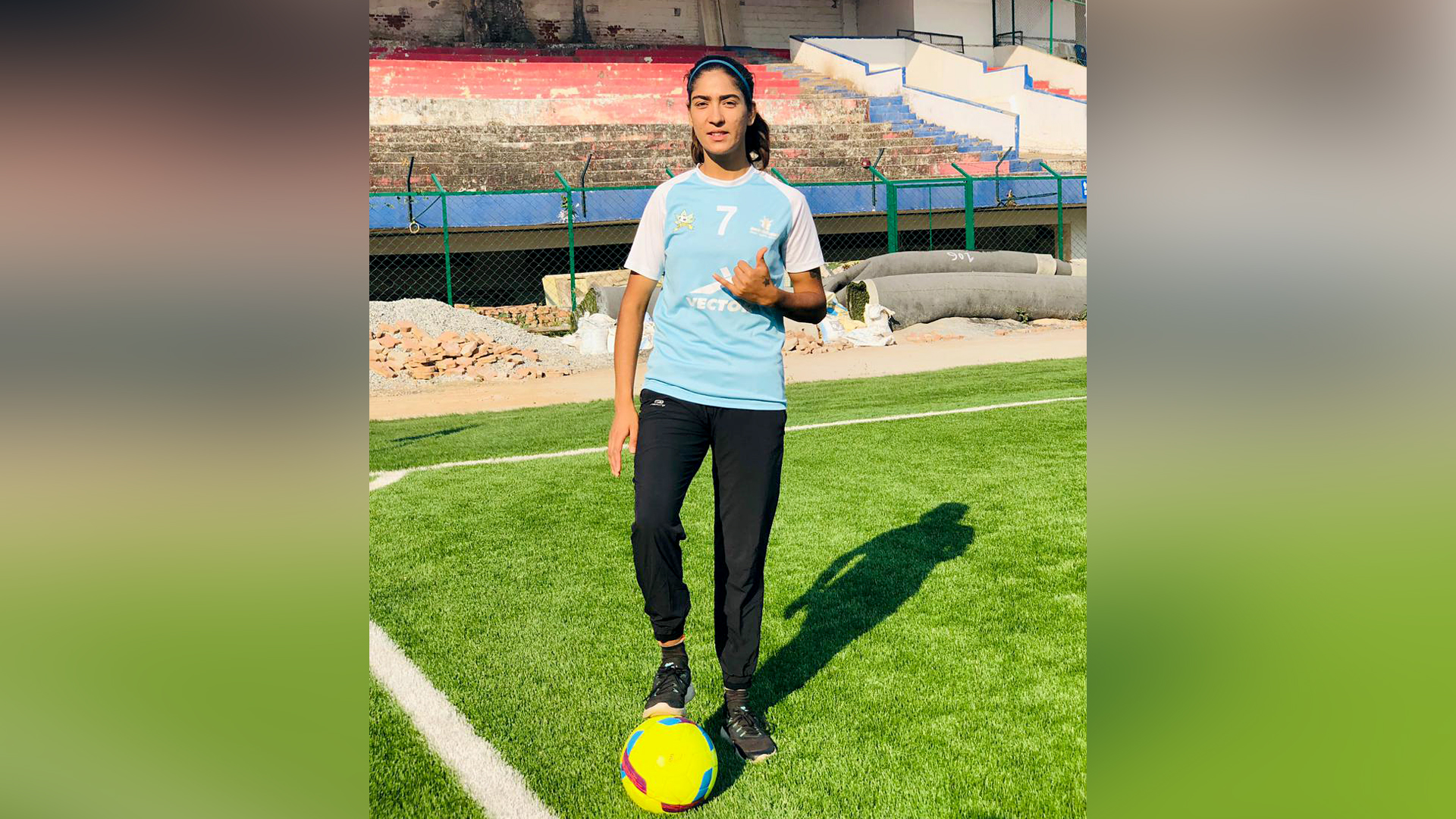 Sporting Goals: Young Kashmiri Women Who Are Coaching Football, Rugby Players