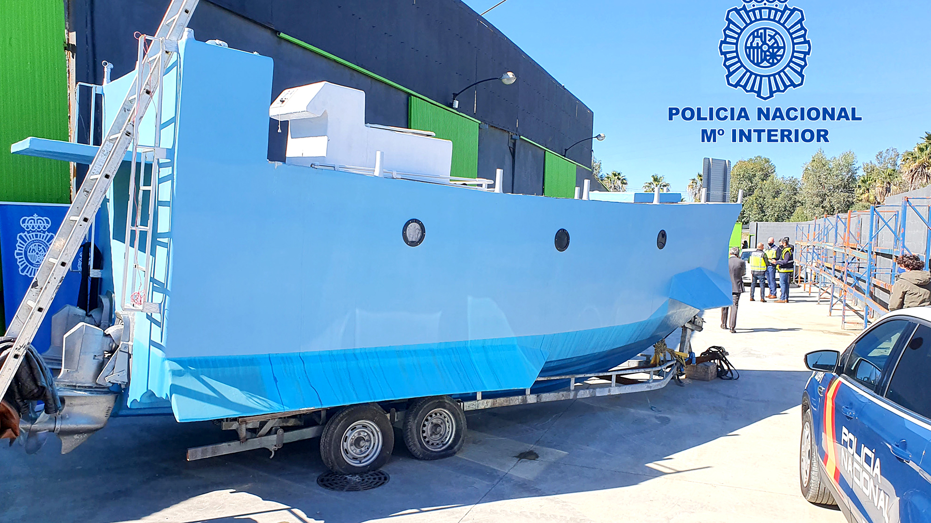 VIDEO: First Time Spanish Cops Seize Drug Trafficker Narco Submarine And Bust 52 Smugglers