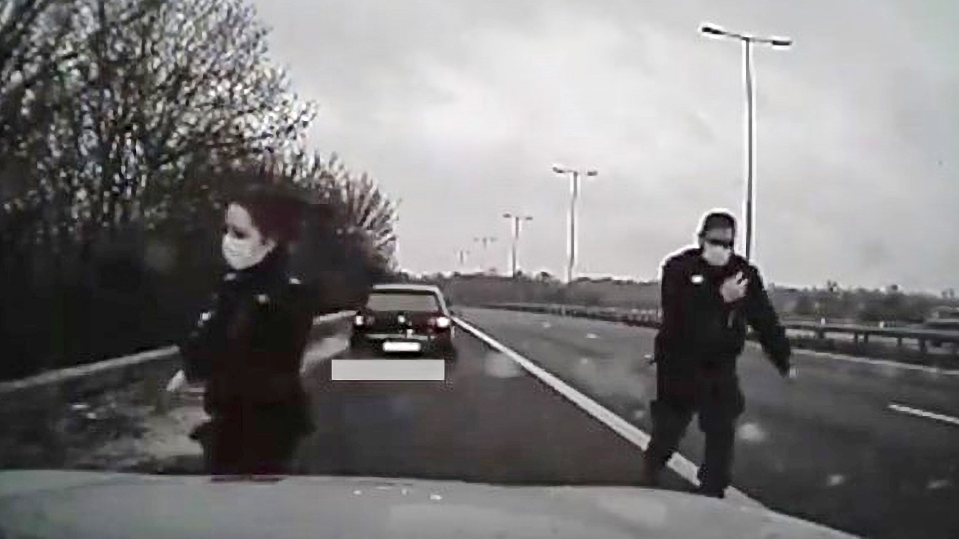 VIDEO: No Ice-cape: Driver Jailed After 130mph Police Car Chase In Snow