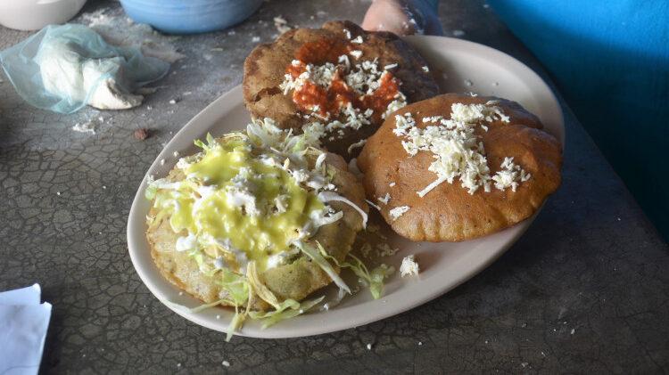 Gorditas infladas: el desayuno jarocho