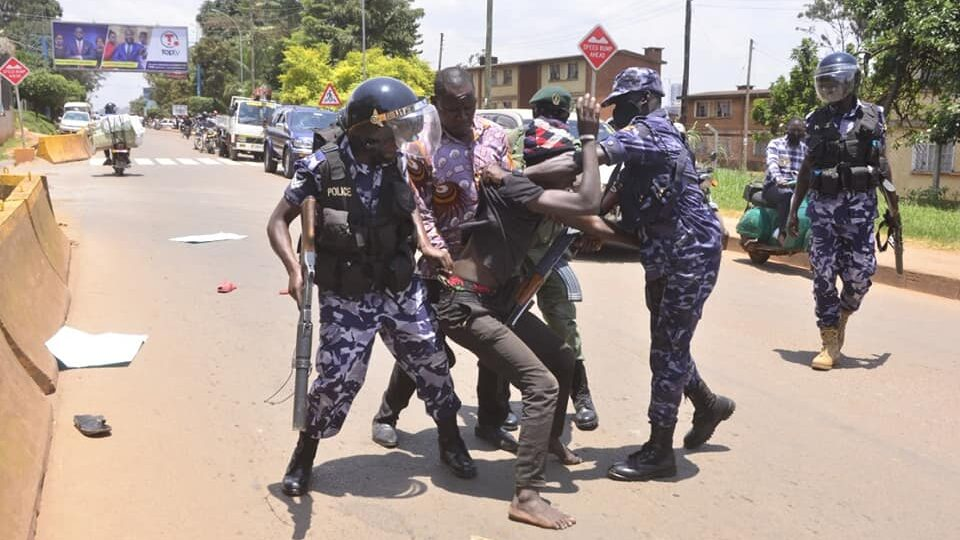 Protesters Arrested As Tensions Linger From Uganda's Disputed Election