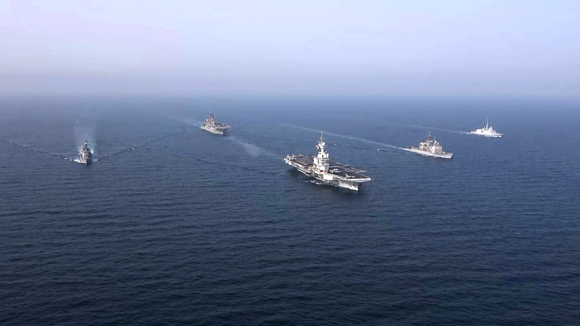 Group Arabian Sea Warfare Exercise Held Under U.S. Naval Forces Central Command