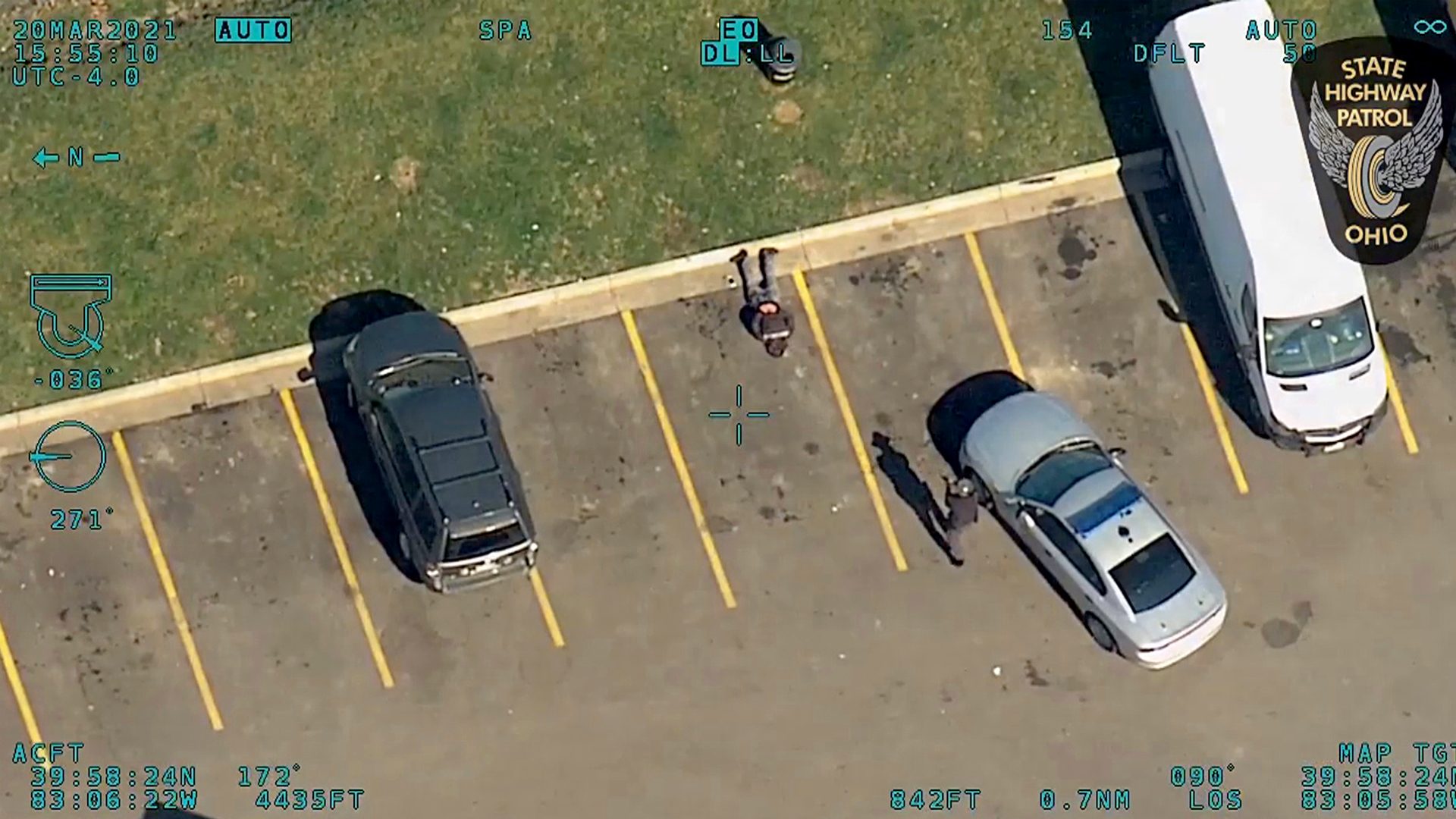 VIDEO: Fleeing Suspect Arrested After Abandoning Stolen Vehicle And Casually Walking Away On Foot