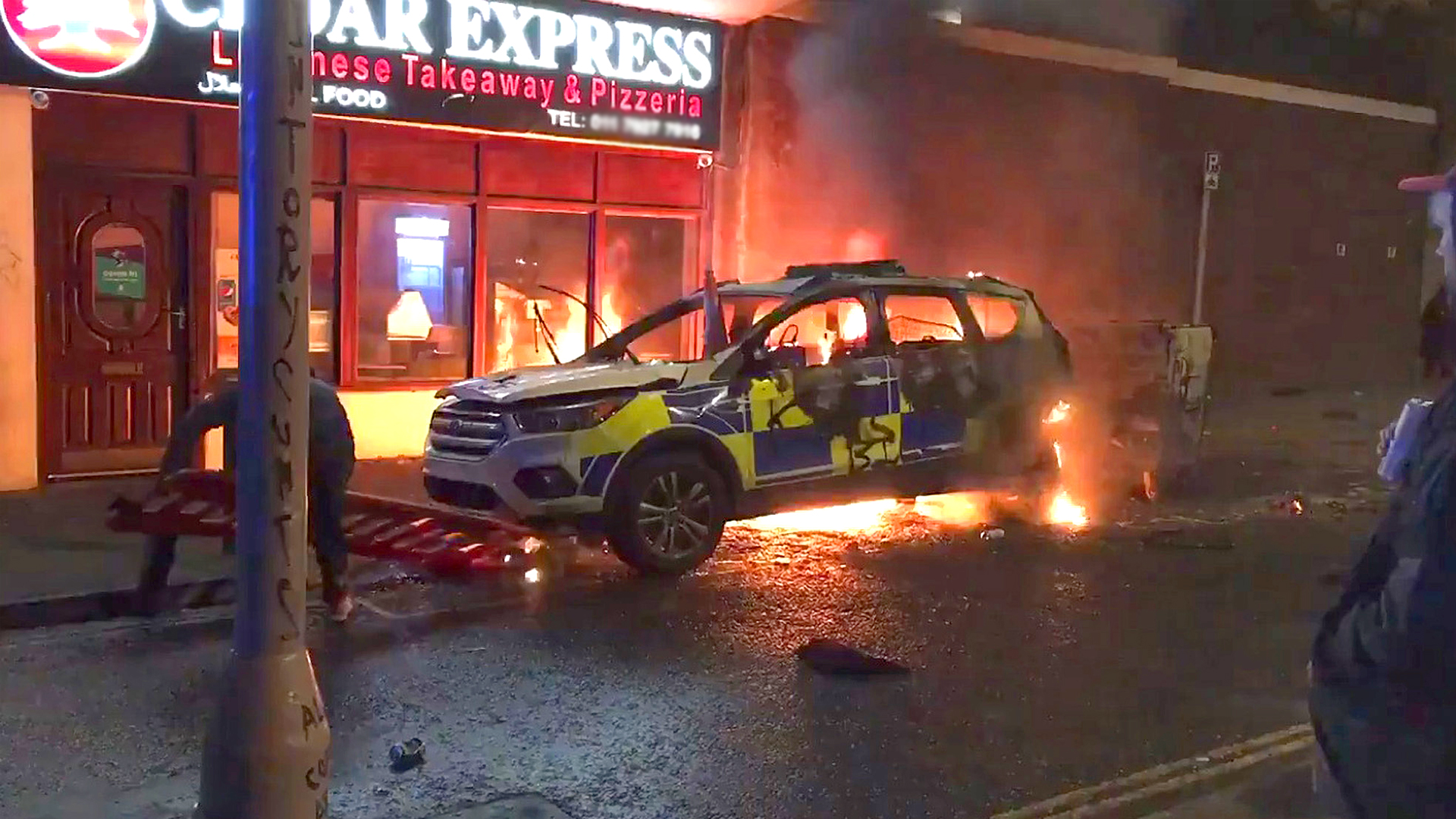 VIDEO: Shocking Footage From Bristol's Kill The Bill Riots