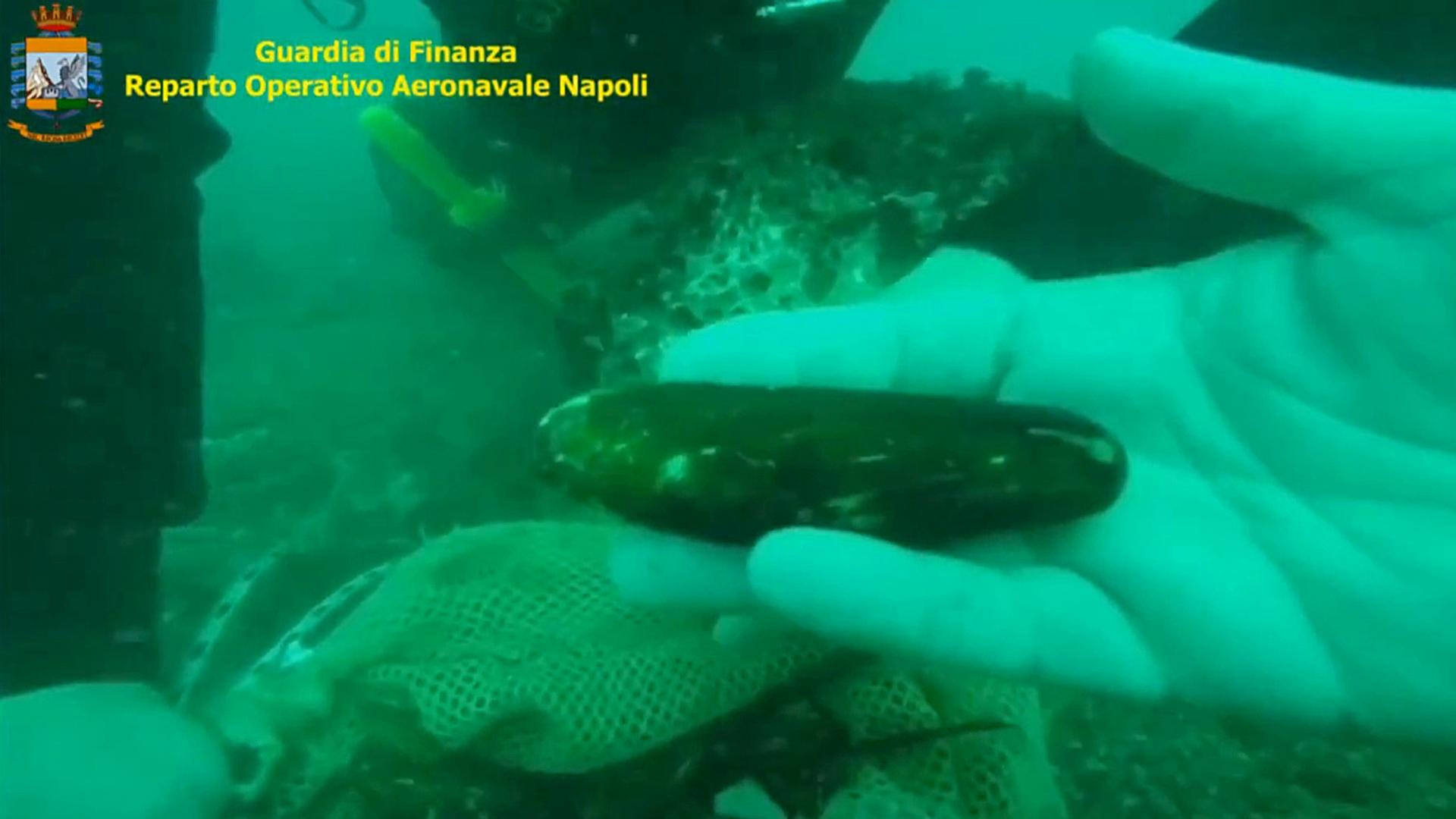 VIDEO: Italian Cops Arrest 12 Over Illegal Date Mussel Poaching