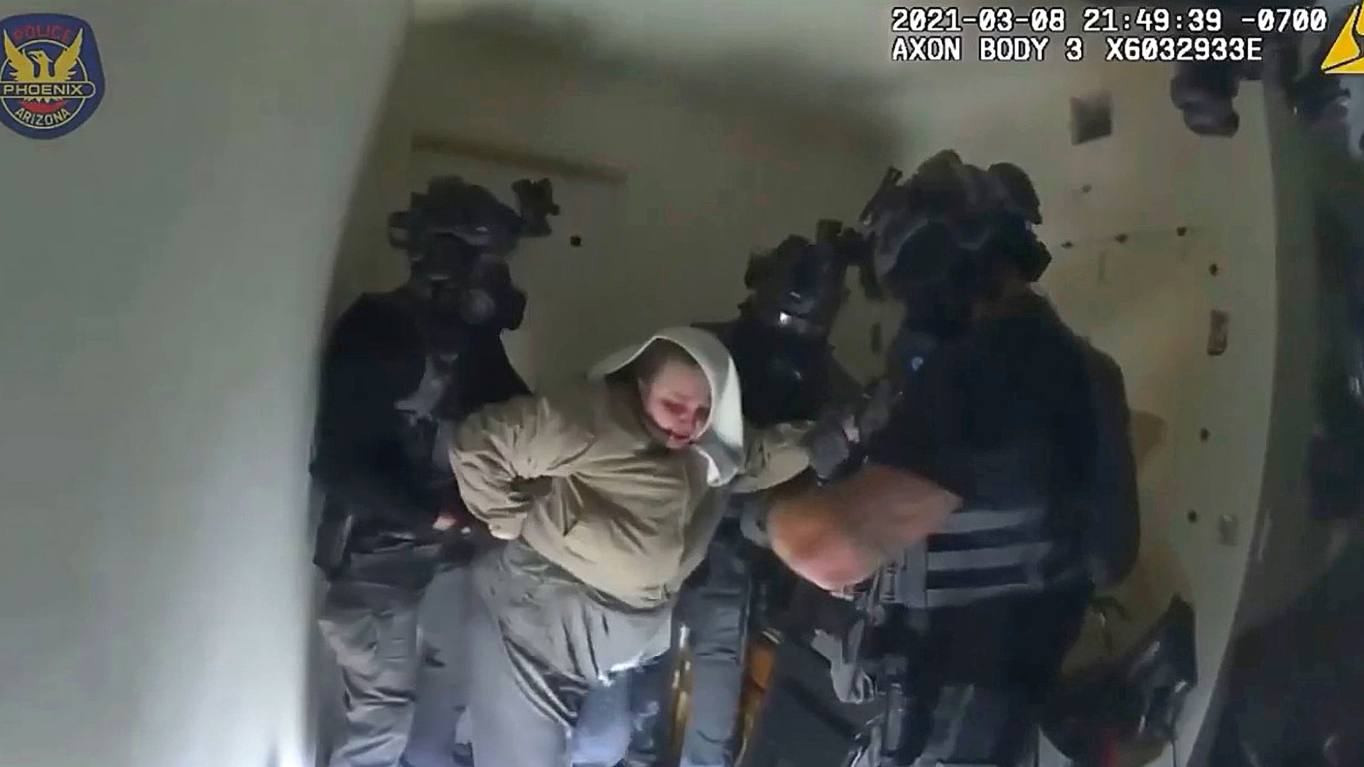 VIDEO: Armed Woman Who Allegedly Shot At Officers Arrested After Eight-Hour Long Negotiations