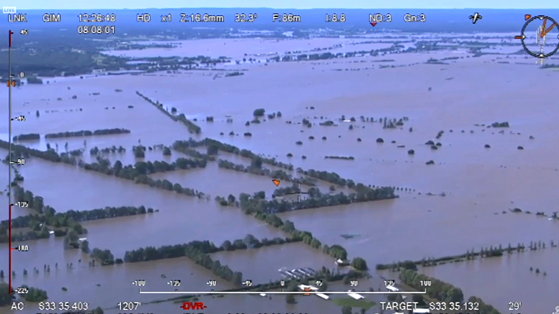 VIDEO: Aerial Footage Shows Aftermath Of Devastating Floods In Australia's NSW