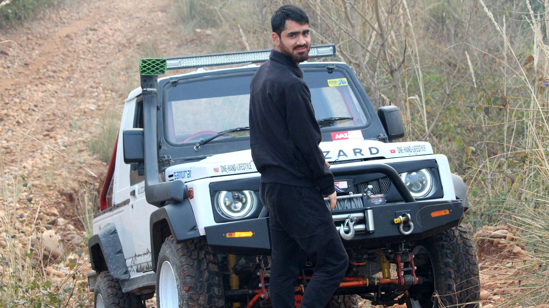 Unbroken Dreams: Kashmiri Youth Aspires For Formula One Success Despite Disability