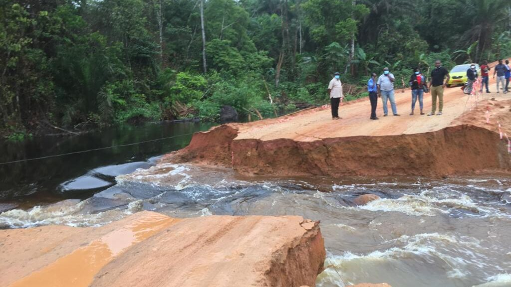 Torrential Rains Break Up Major Roads, Disrupt Commerce Routes In Cameroon