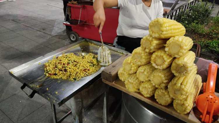 El 'maíz callejero': otro platillo emblemático de México