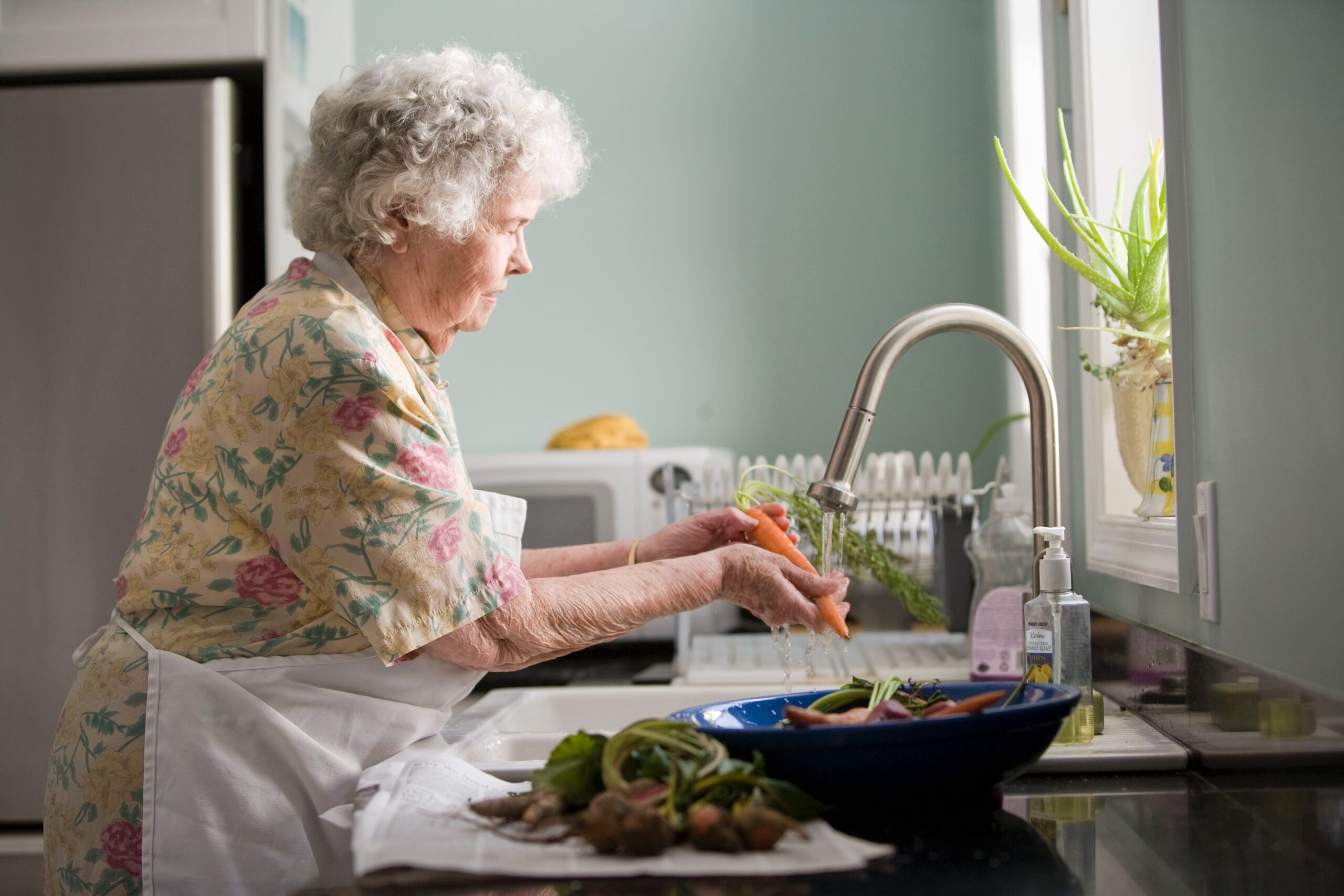 <p>Women who work in someone else's houses are not entitled to a pension, and so are unable to stop working even during their old age. The Mexican government is testing a program to improve their situation. (CDC / Unsplash)</p>