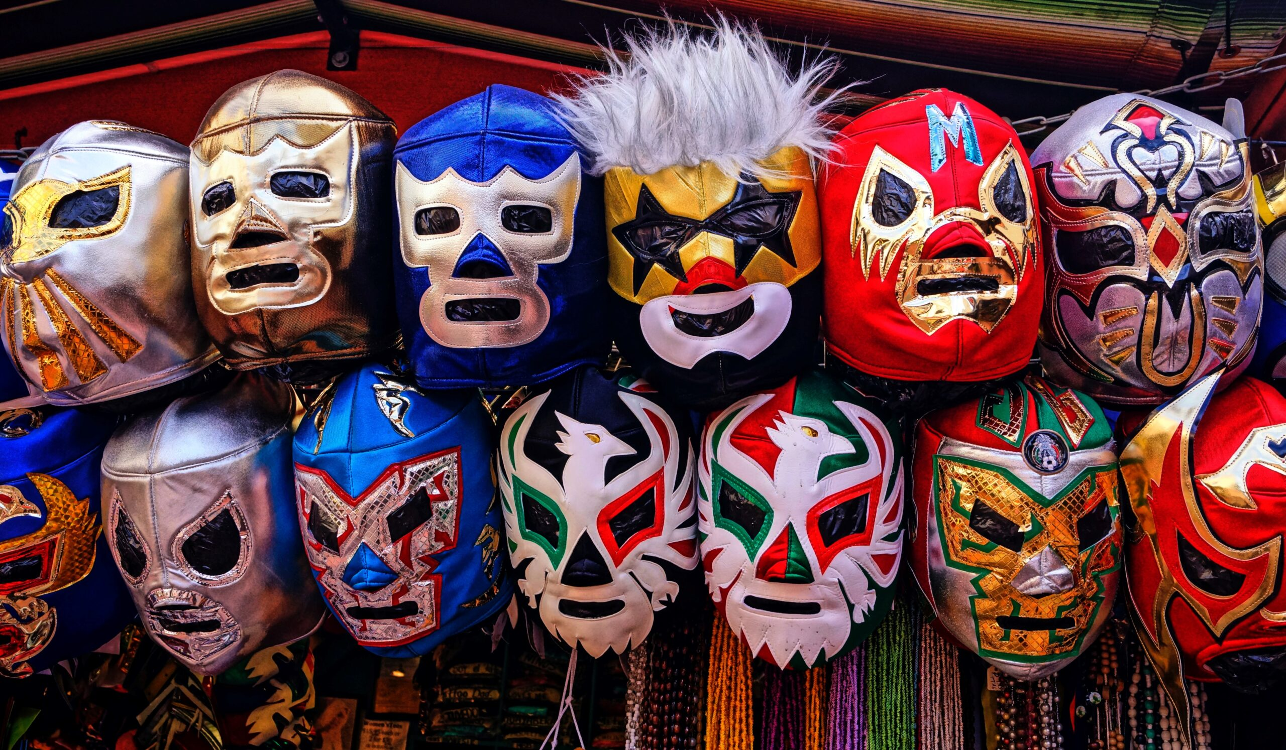 <p>Lucha libre is extremely popular in Mexico, where masks used in the matches are sold in stalls and sport stores. Many children want to practice it and become lucha libre stars. (Larry Costales / Unsplash)</p>