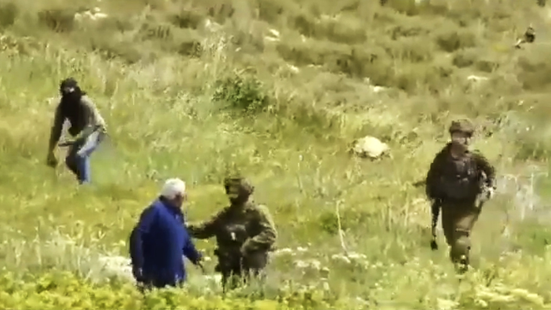 Israeli Settlers Attack Palestinian Man With Sticks And Stones In West Bank