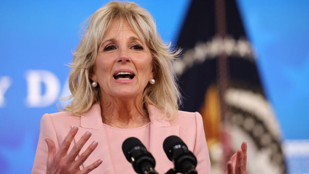 Jill Biden Rolls Out Next Phase Of Program To Help Military Families