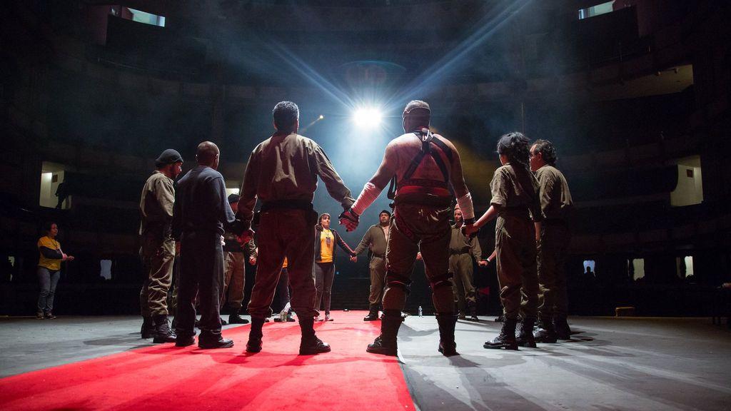 Tras las rejas, el teatro es un soplo de libertad