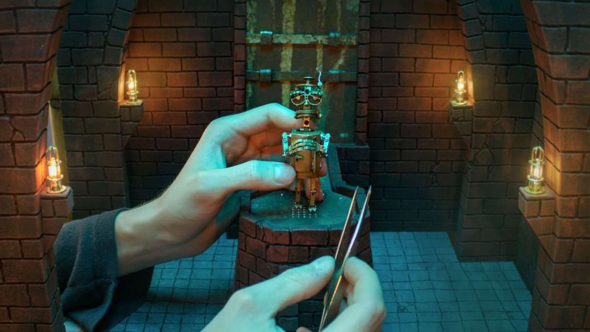 A Filmmaker's Decades-Long Quest To Finish Stop-Motion Steampunk Movie