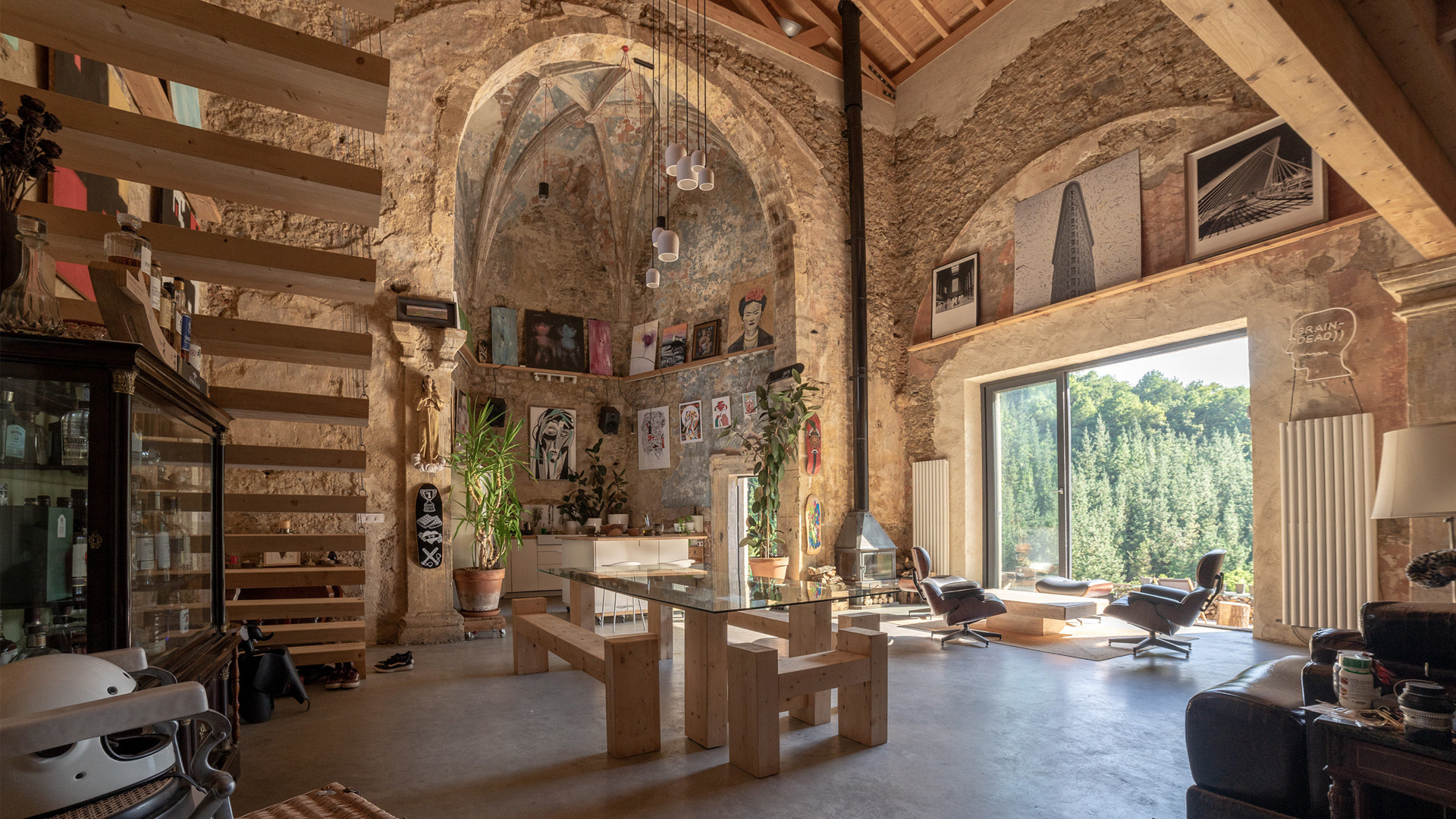 Pew'd Have Thought It? Designer Turns Wrecked USD 25,000 Church Into Dream Home