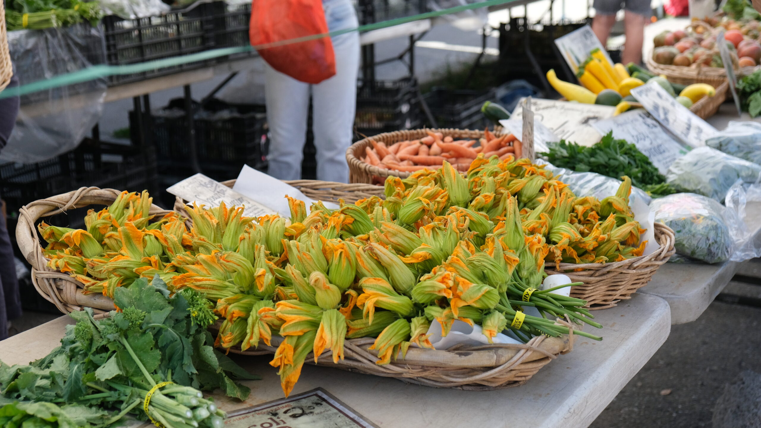 Flower Power: Squash Blossom Is A Sensory Experience