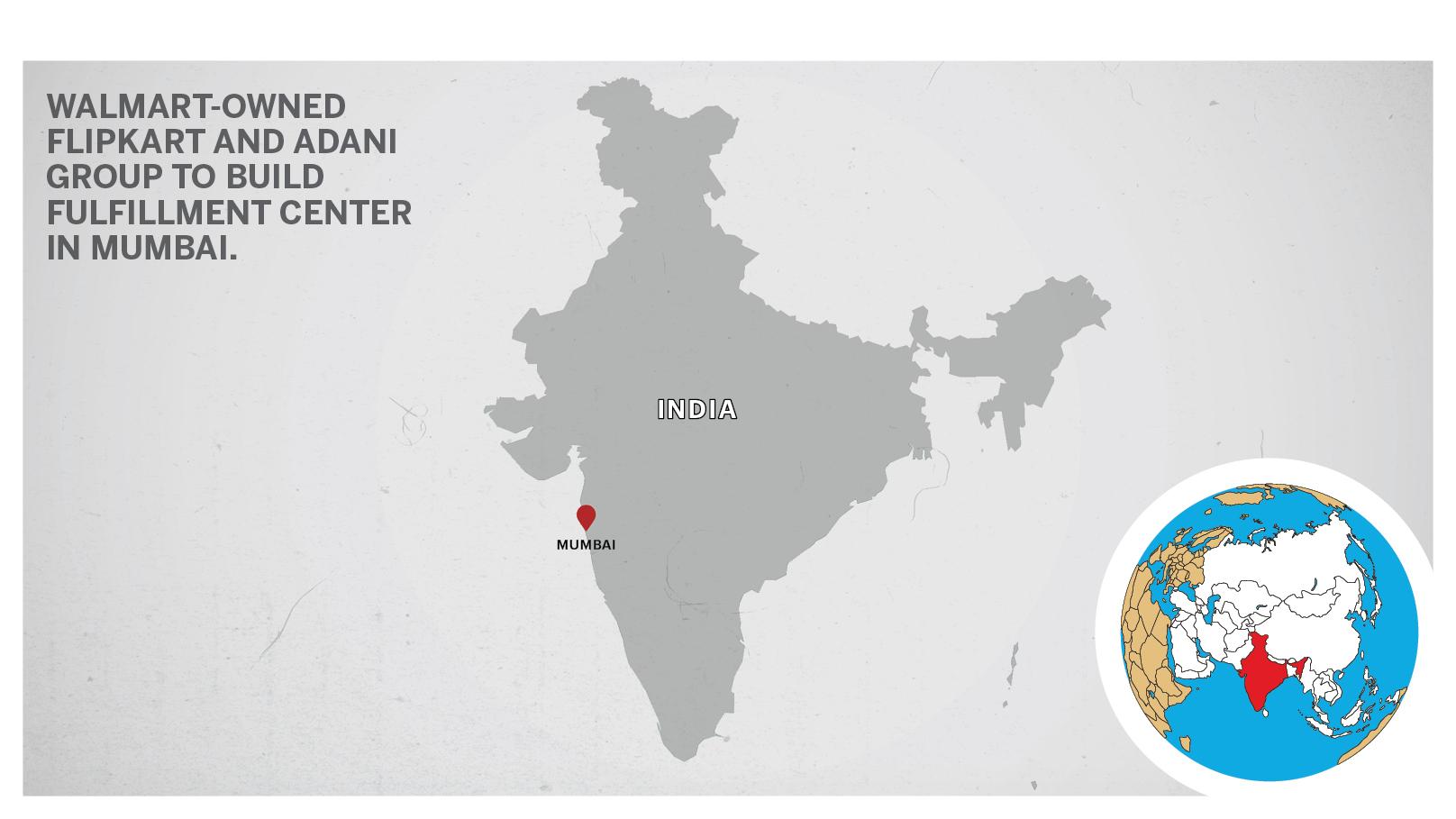 Flipkart map