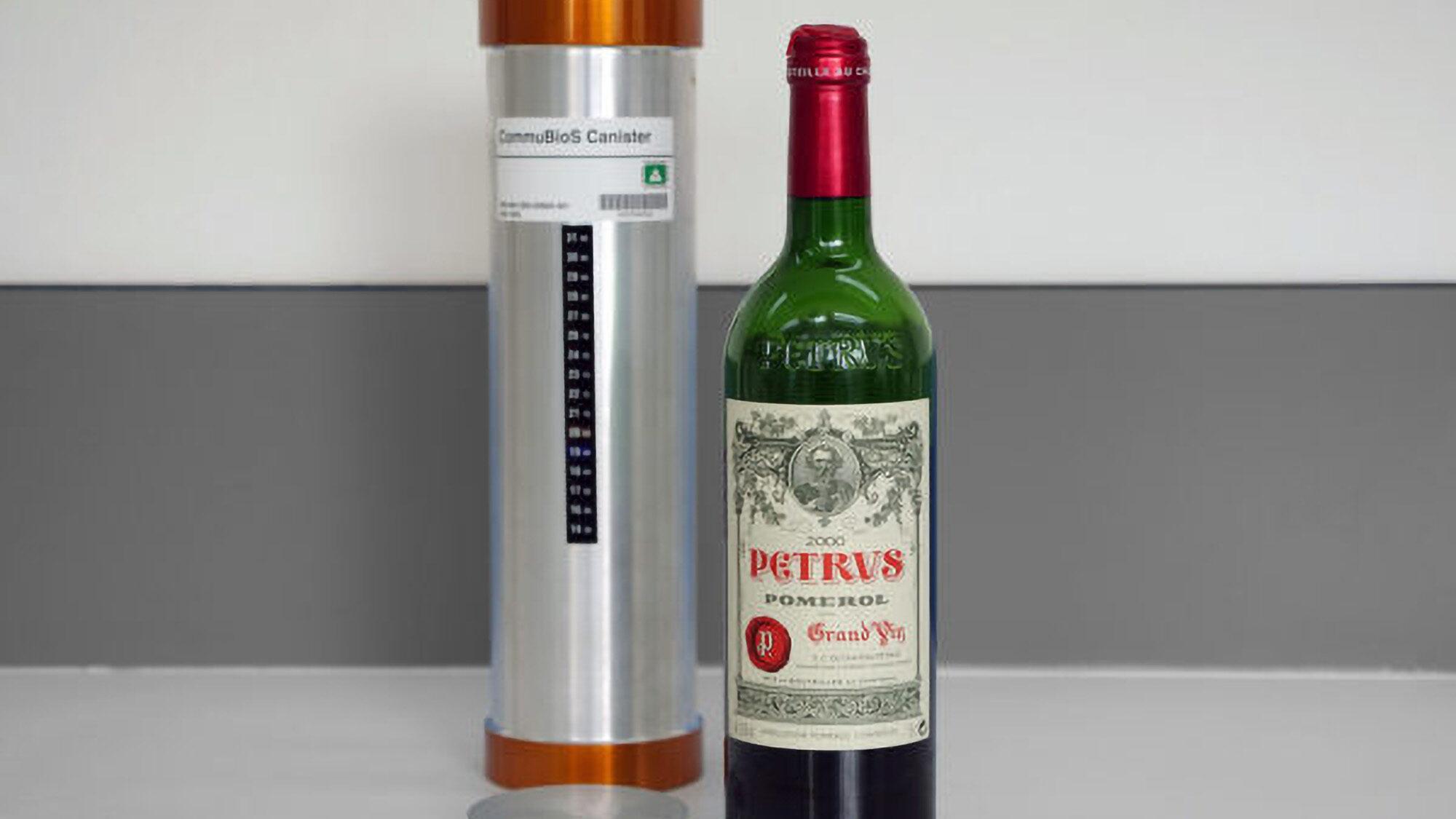 Space Aged: Fine Wine Taken Into Orbit Tastes Older, Say Experts