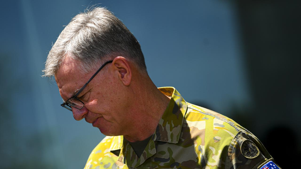 Australian Army Chief Defends Military Leadership
