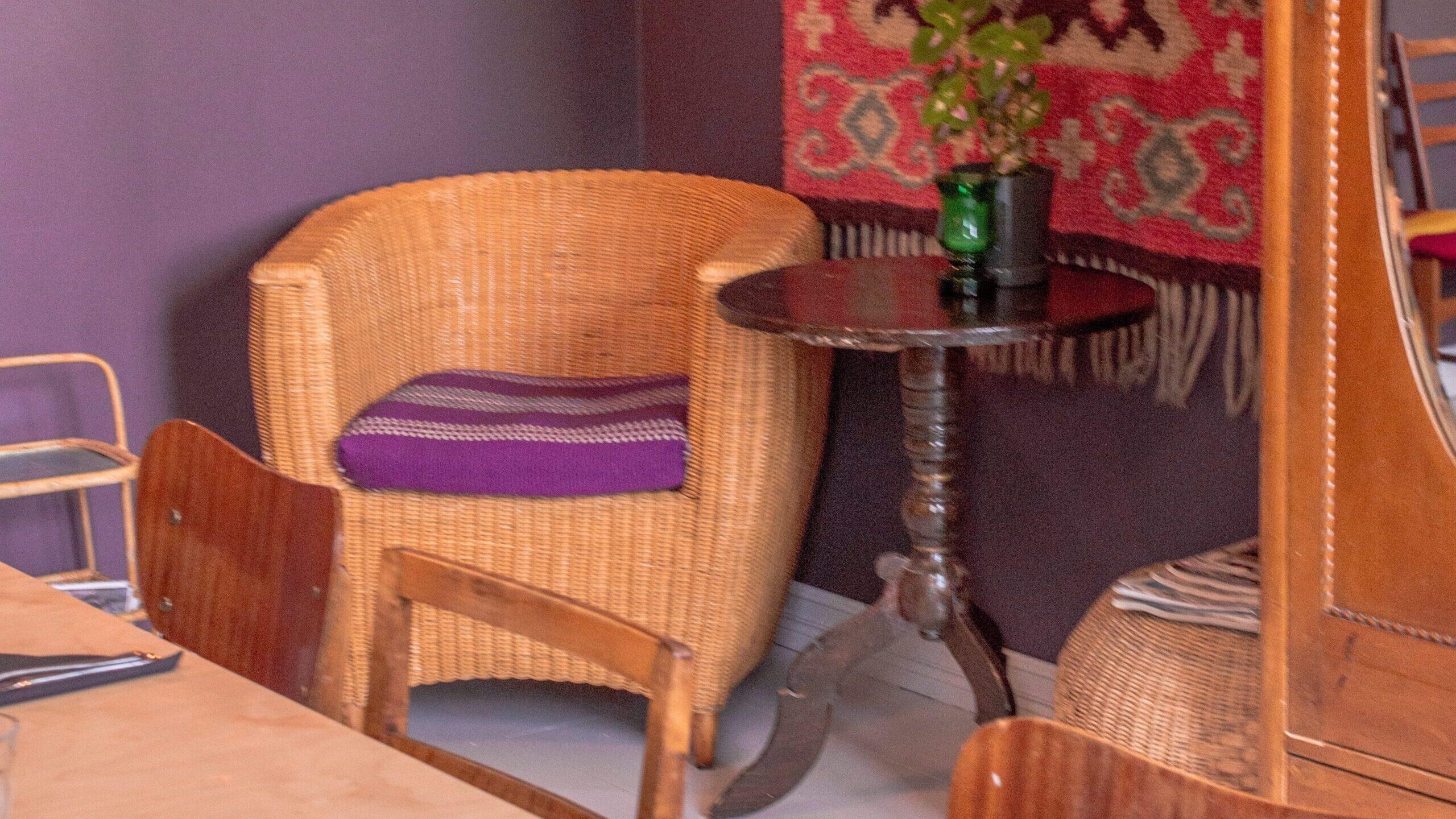 Muebles reparados tienen su propio estilo