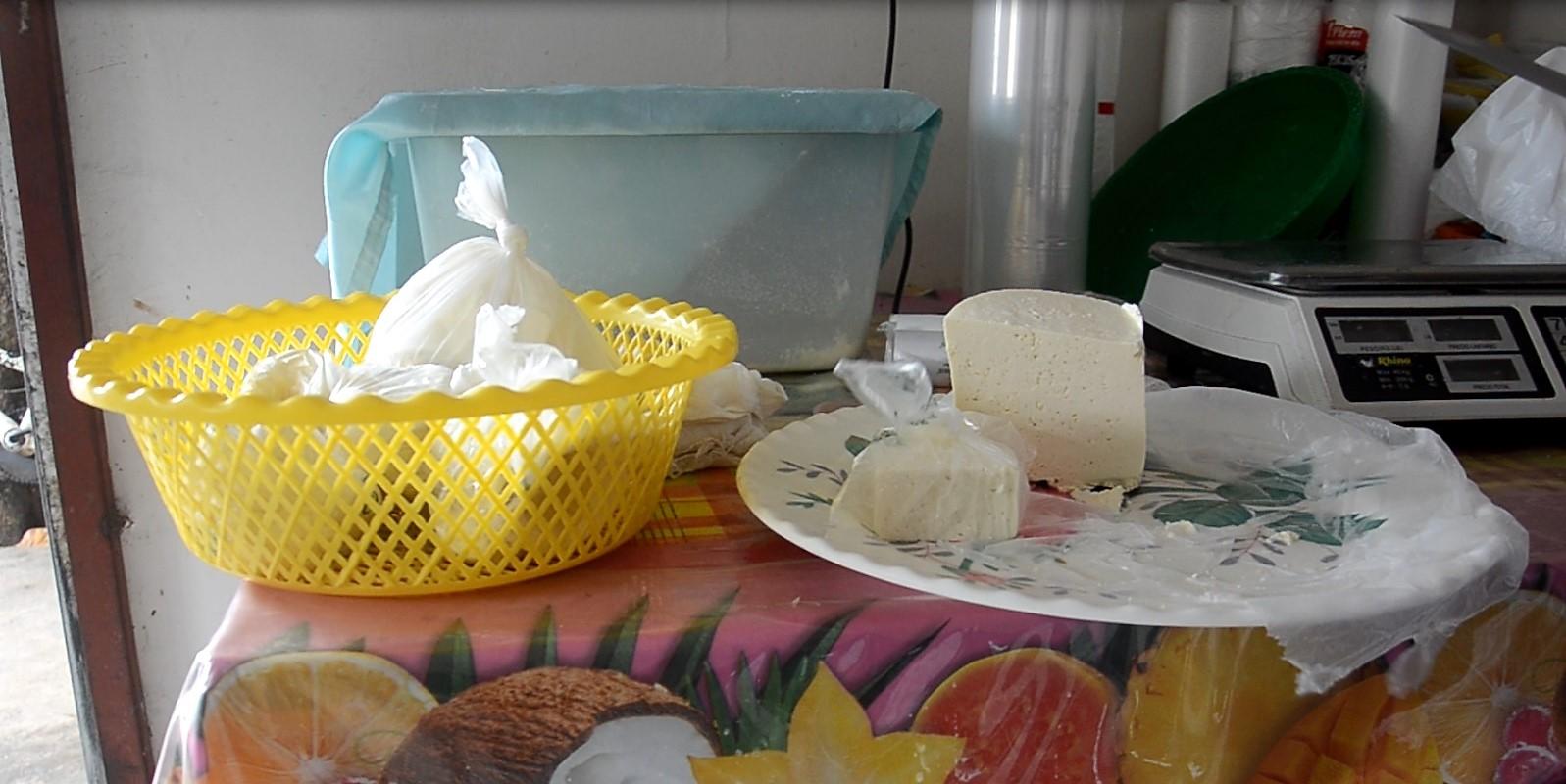 El queso fresco viene directo del rancho