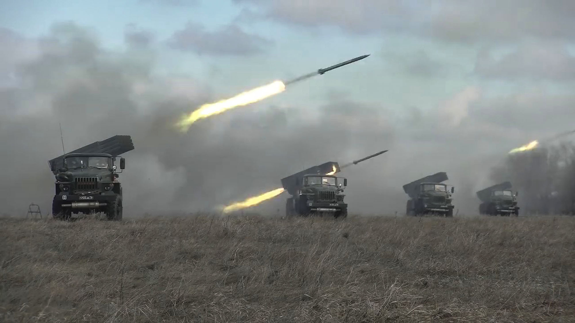 VIDEO: Game Of Drones: Russian Artillery Use Military Drones To Destroy Targets