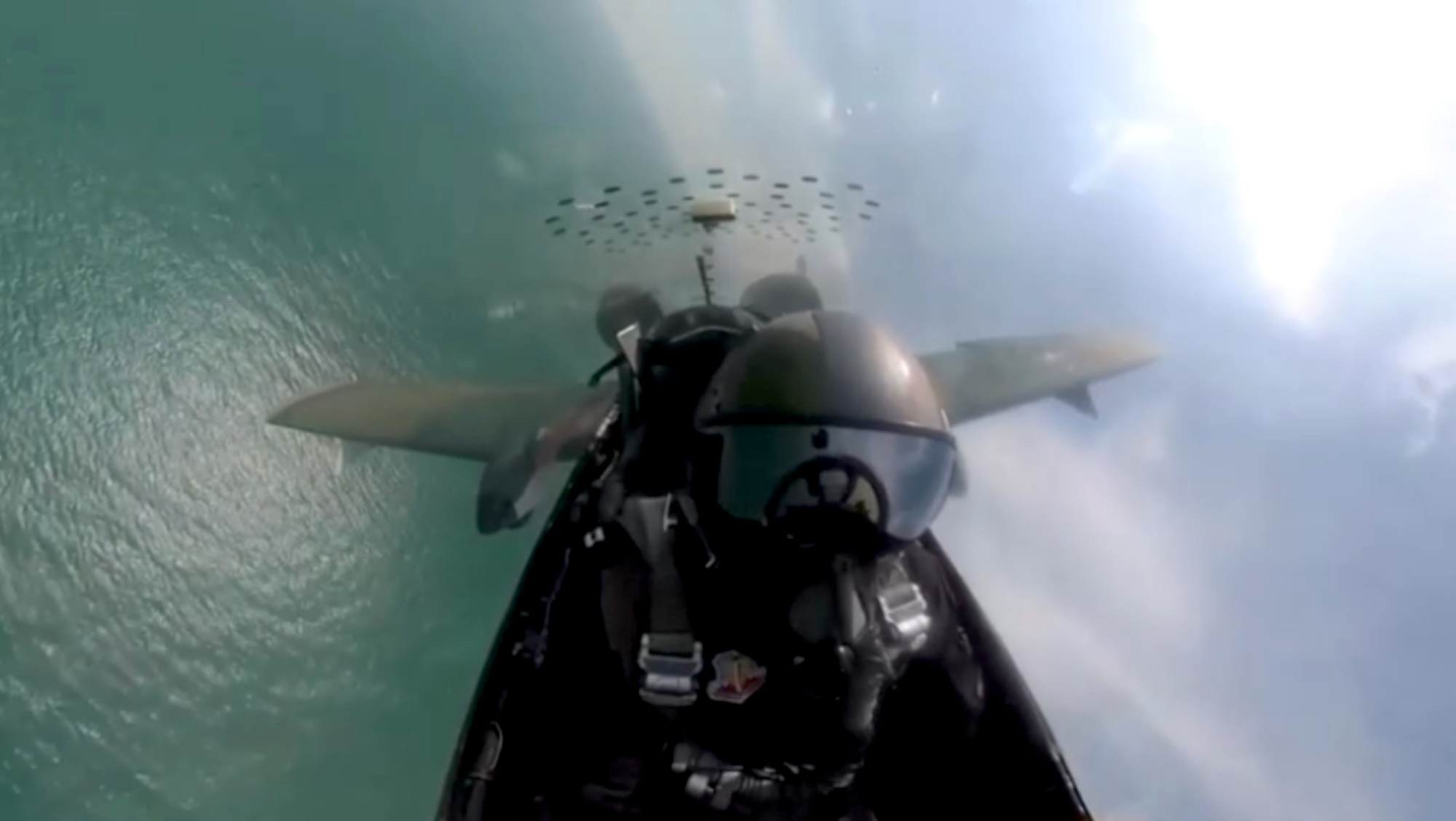 VIDEO: Flying High: Air Force Demo Squadron Shows Off The Right Stuff