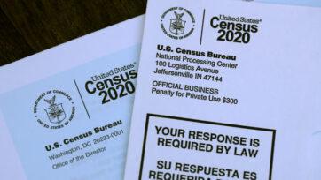 En marzo de 2020, los estadounidenses recibieron por correo materiales invitándolos a completar la información del censo. (Justin Sullivan/Getty Images)