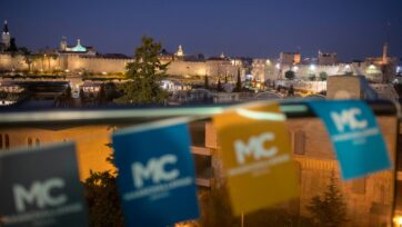 MassChallenge in Jerusalem serves startups from around the world. (Ricky Rachman, courtesy of MassChallenge Israel)