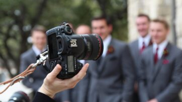 A wedding photographer, who must also know how to make videos, is an important part of a couple's wedding. (Aubrey Hicks /Unsplash)