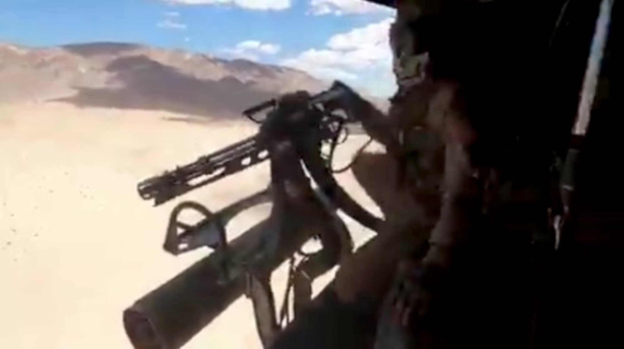 VIDEO: Chopper Squad: Marines Helicopter Crew Make Mincemeat Of Targets With Minigun