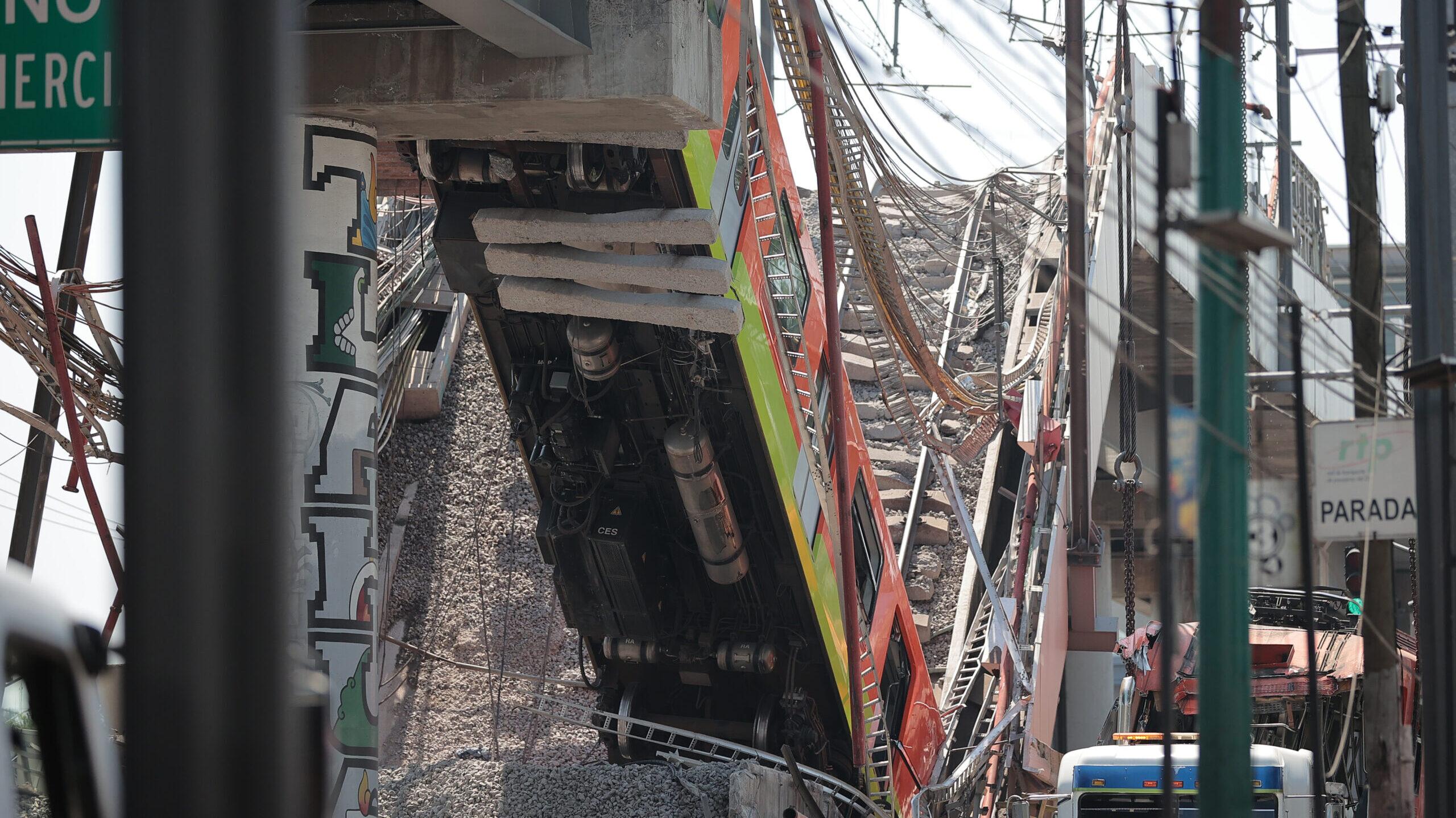 Empresa noruega hará peritaje sobre colapso del metro