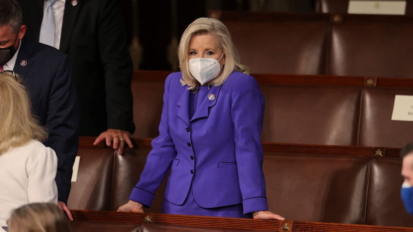 GOP Push To Oust Liz Cheney Marks Shift From Traditional Republican Party Infighting