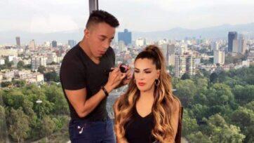 Héctor Guzmán maquilla a muchas estrellas muy conocidas en los medios hispanos, como Ninel Conde. (Cortesía Héctor Guzmán)