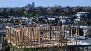 The total value of Australia's residential real estate has passed $8 trillion.