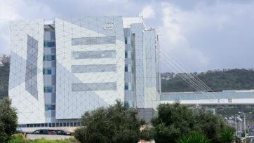 Intel's Israeli headquarters in Haifa. Photo by Shutterstock