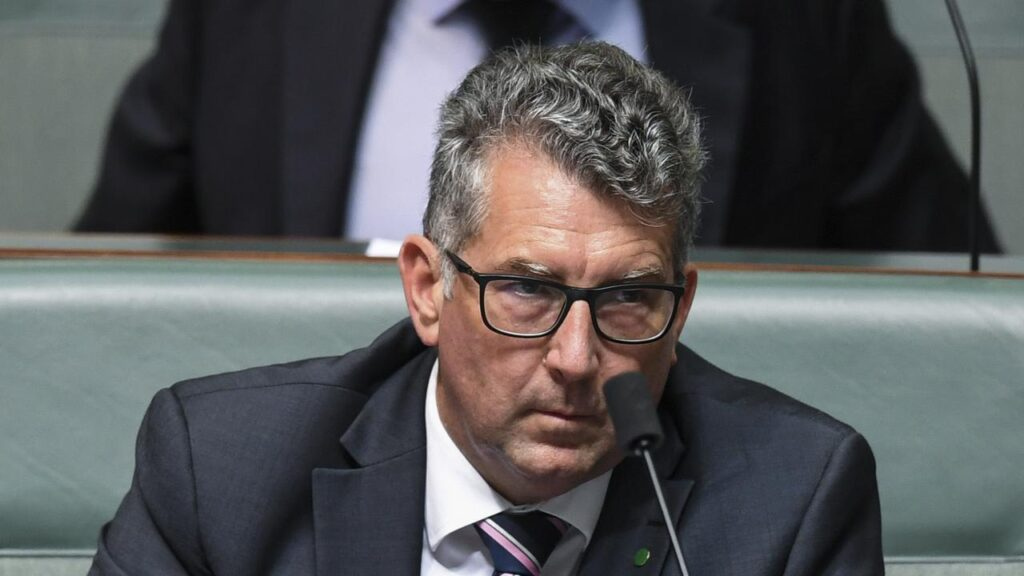 Resources Minister Keith Pitt is set to tell parliament why he vetoed a loan for a wind farm.