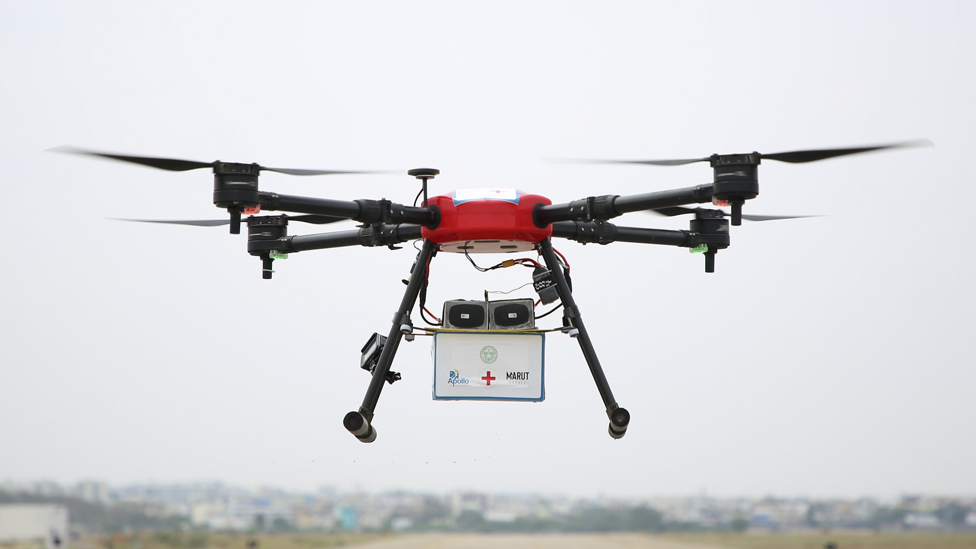 India Plans Drone-Powered Vaccine Delivery Trials To Fight Covid