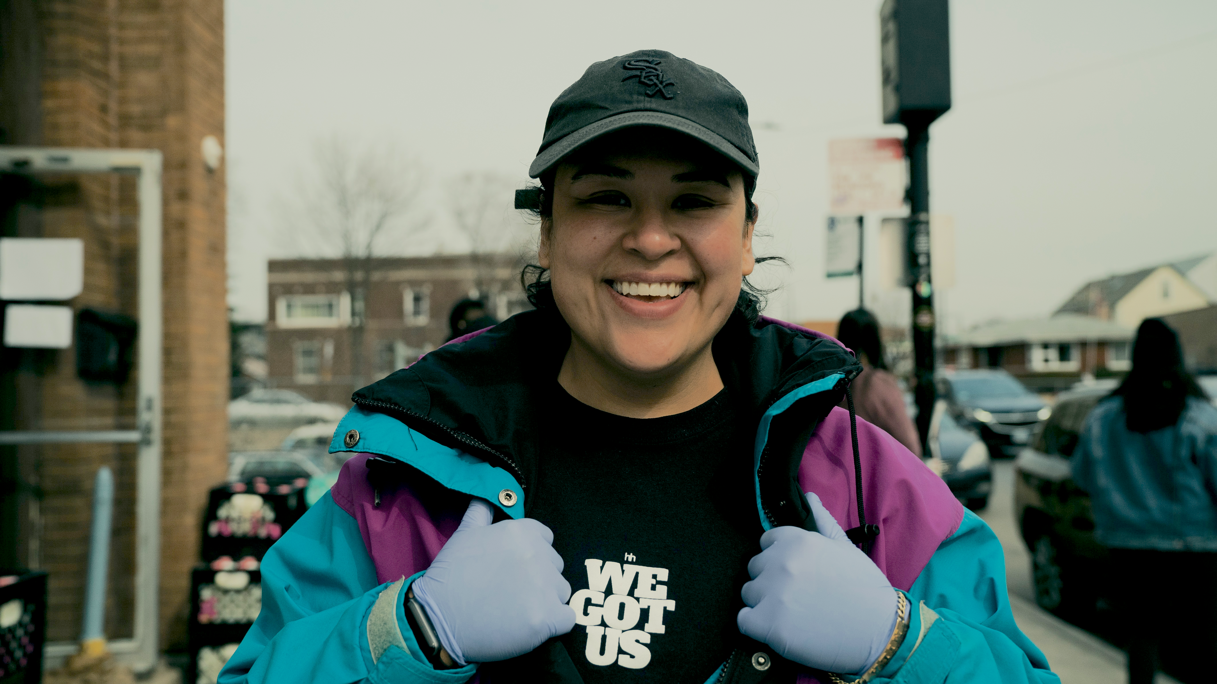 Amid the pandemic, Mila Johnson Pérez launched her delivery and pickup service for mom-and-pop shops. (Negocios Now)