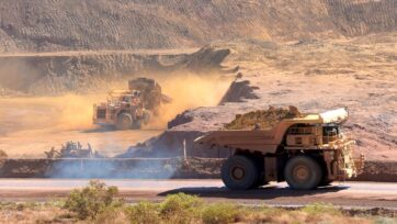 The iron ore price has rocketed to more than $US200 per tonne, well above the Treasury forecast.