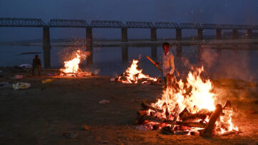 Mass Cremations Continue During India's Covid-19 Crisis