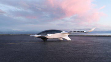The Lilium jet has been in development since 2015. (Lilium/Real Press)